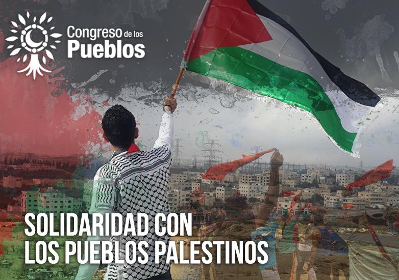 [Pronunciamiento] Solidaridad con los pueblos palestinos