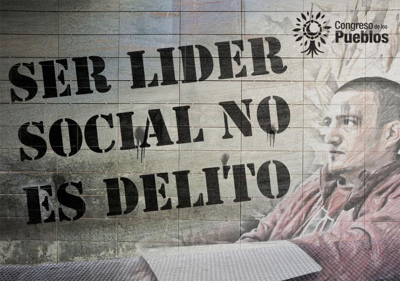 [Comunicado] Ser Líder Social NO es Delito